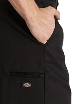 Dickies Men's Loose Fit Double Knee Twill Work Pant, Black, 36w X 30l 2