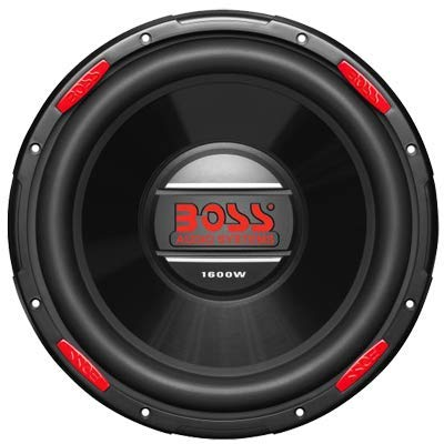 BOSS Audio AR120DVC 12 Inch Car Subwoofer - 1600 Watts Maximum Power, Dual 4 Ohm Voice Coil, Sold - 12 Car Dual Audio