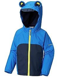 Columbia Unisex-Child Kitteribbit Fleece Lined Rain Jacket Raincoats