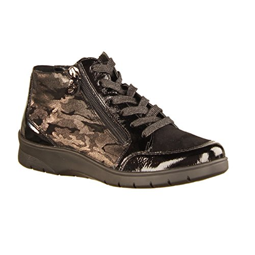 Boots Size ara 7 UK Women's Black A5Yq8w