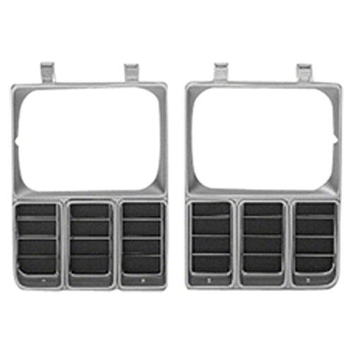 Headlamp Blazer Door (PTM Left Headlamp Door for Chevy C30, K5 Blazer, Pickup, Suburban GM2512105)