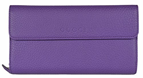 Gucci Women's Leather Large Zip Around Continental Wallet (Gucci Wallets Continental Wallet)