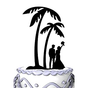 41cT4wBGuvL._SS300_ Beach Wedding Cake Toppers & Nautical Cake Toppers