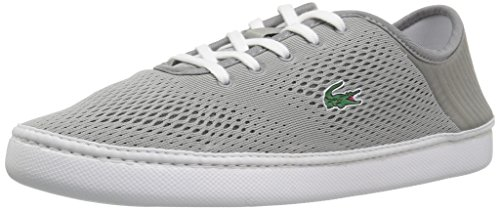 Sneakers Lacoste Lace (Lacoste Men's L.ydro Lace Sneakers,Grey/White textile,10 M US)