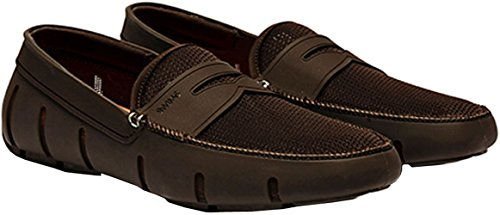 SWIMS Men's Penny Loafer Brown 11.5 M US Brown Penny Loafer
