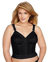 EXQUISITE FORM Women's Front Close Longline Bra #5107530
