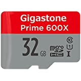 Gigastone Prime 32GB Micro SD Card UHS-I U1 up to 95MB/s with Adapter, Nintendo, Dashcam, GoPro, Camera, Samsung, Canon, Nikon, DJI, Drone, Full HD