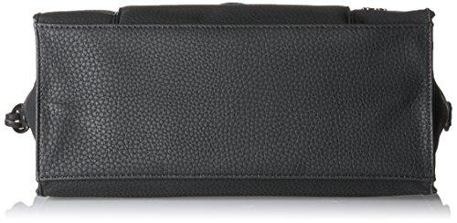 Sansibar Damen Shopper Bag Henkeltasche, Schwarz (Black), 16x29x33 cm