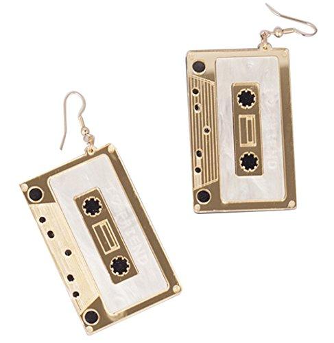 CutieJewelry Cassette Tape Dangle Cute Pretty Earrings – The Super Cheap