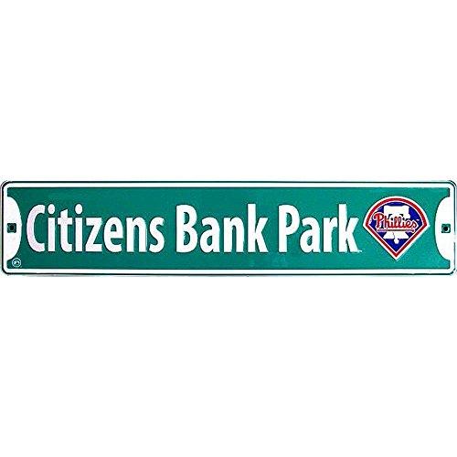Phillies Citizens Park Bank - Signs 4 Fun Ssbpp Phillies Citizen Bank Park, Street Sign
