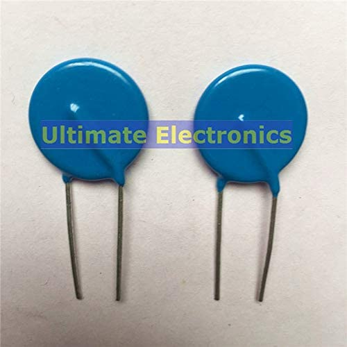 WuLian 20pcs Varistors 20D271K 270V Metal Voltage Dependent Resistor
