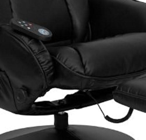 Flash Furniture Massage Leather Recliner elegant design