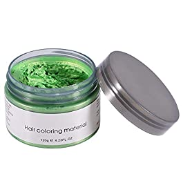 SunshineFace 120ML Unisex Disposable Hair Dye Mud, Hairdressing Cream Hair Styling Coloring Wax
