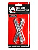 ARES 70024-3/8-Inch and 5/16-Inch Scissor Fuel Line Disconnect Tool - Easy Separation of Quick Disconnect Style Fittings - Use on Fuel, Heater, and A/C Line Service on Many Late Model Vehicles