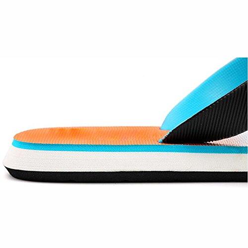 XIAOLIN Chanclas con estilo de los hombres del gradiente Zapatos ocasionales del verano Sandalias de los hombres (tamaño opcional) ( Color : 01 , Tamaño : EU43/UK9/CN44 ) 01