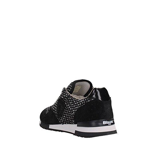 Blauer USA 6FWORUNORI/WOL Sneakers Mujer negro