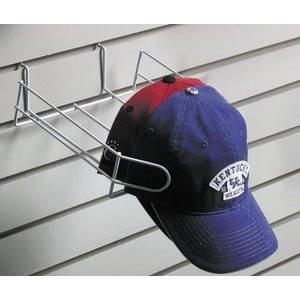 White Wire Hat Rack