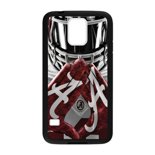 NCAA University of Alabama Crimson Tide Team Logo Custom Phone Case Phoneases Hard Plastic and TPU for SamSung Galaxy S5