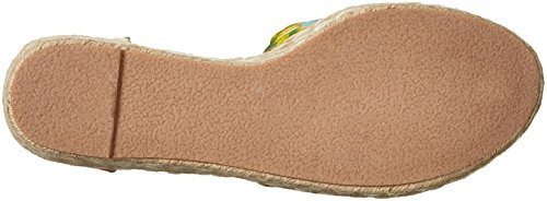 Blu orange Wedge Qupid Espadrille Women's Sandal IwqWwFxORZ
