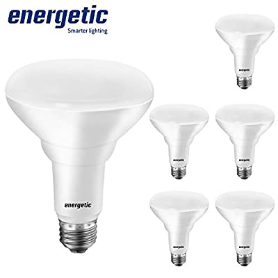 Dimmable BR30 LED Bulbs, 65 Watt Equivalent (8.5W), 650LM, 3000K Warm White, E26 Base, Indoor Flood Lights for Recessed Cans, UL Listed, 6 Pack