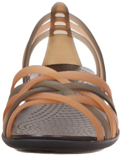 Koko Uk 2 Kultainen Naisten Hurcheflatw Sandaalit Crocs 5 RWa8Z1qAA