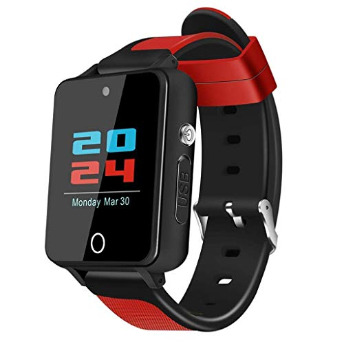 Fitness Tracker Smart Sports Bracelet GPS Positioning Two-Way Call Bluetooth Music Smart Watch 4gb+16g Android 5.1-1.5inch Green/Black / Black Silver/Black Red