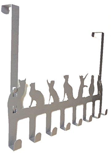 Over Door Hooks, Heavy Duty Organizer Hanger Rack For Coat, Towel ...