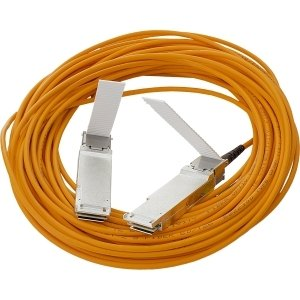 HP BladeSystem c-Class 40G QSFP+ to QSFP+ 10m Active Optical Cable - Fiber Optic for Network Device - 32.81 ft - 1 x QSFP+ Network - 1 x QSFP+ Network - 720208-B21 by Generic
