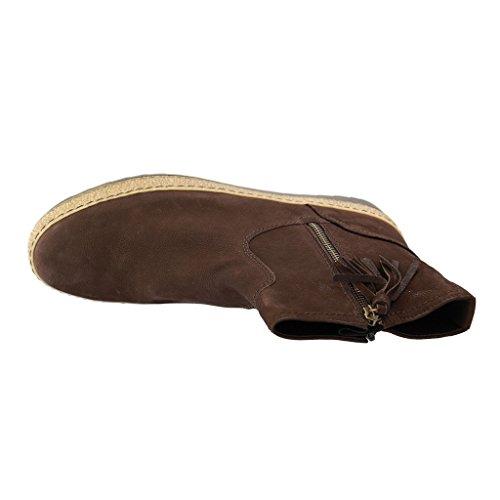 Gabor 53.740.18 - Botas de Piel para mujer marrón oscuro