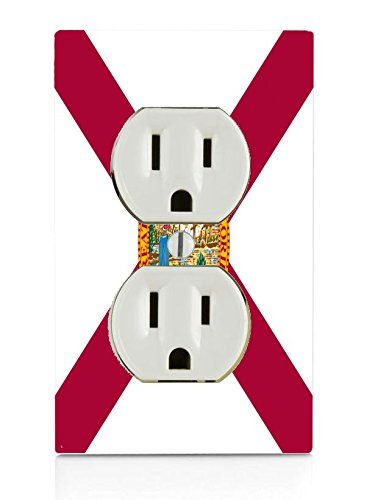 Florida State Flag Electrical Outlet - Florida Outlet