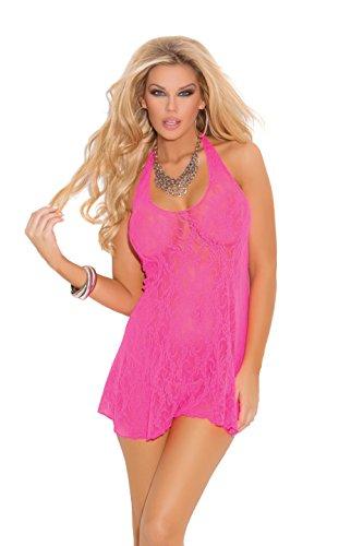 Hot Pink Halter Mini - 7