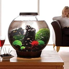 biOrb CLASSIC 15 Aquarium with LED – 4 gallon, Black
