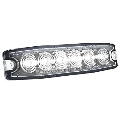 HELLA H22895031 White MST6 LED Lighthead, 12-24 V: Automotive