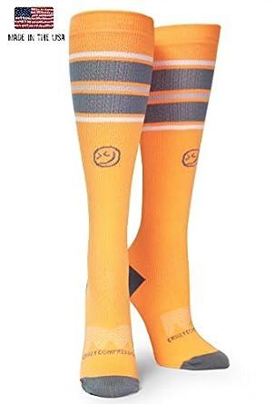 cc76832106 Crazy Compression OTC All Star Stripes Compression Socks (XS (Shoe Size 4-7