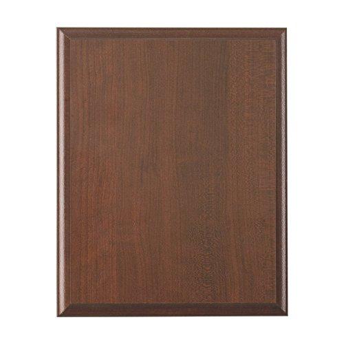 Ridgecrest Woods Elegant Cherry Finish Composite Wood Plaque, 9 by (Cherry Finish Wood Plaque)