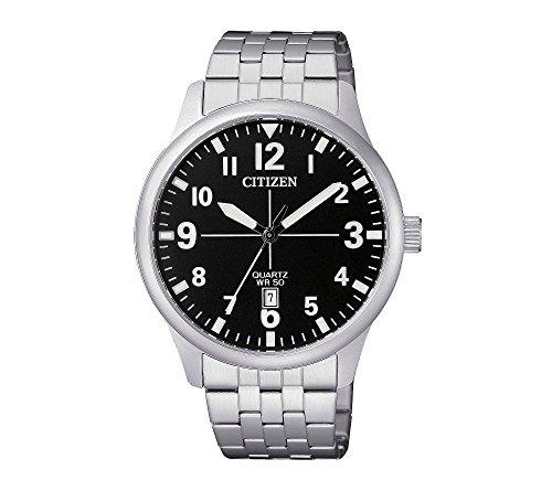 Citizen-Stainless-Steel-Quartz-Dress-Watch