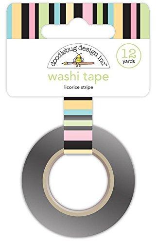 DOODLEBUG KS Licorices Stripe Washi Tape