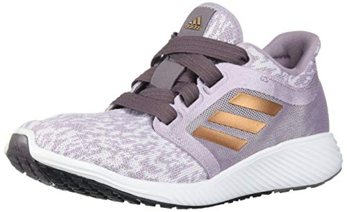 adidas Women's Edge lux 3 w Running Shoe, Soft Vision/Copper met./ Vision Shade, 9.5 Standard US Width US
