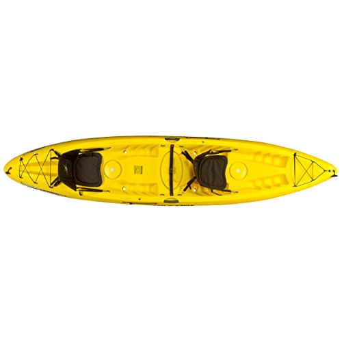 Ocean Kayak Malibu Two XL Tandem Kayak Yellow, One Size