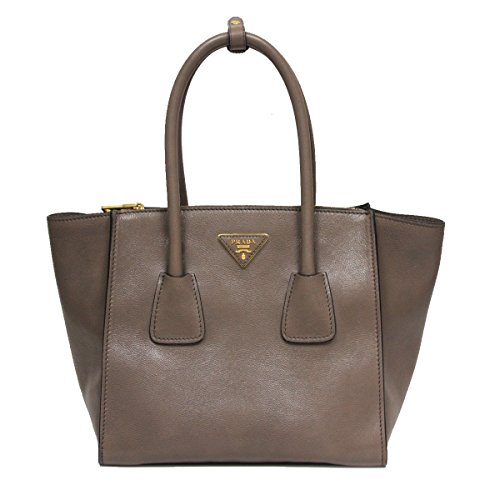 Prada-Glance-Twins-Leather-Shopping-Tote-with-Shoulder-Strap-1BG625-Argilla-Grey