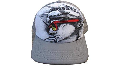 Oakley Men's NYC New York Liberty Frogskins Snapback Trucker - - Oakley Nyc