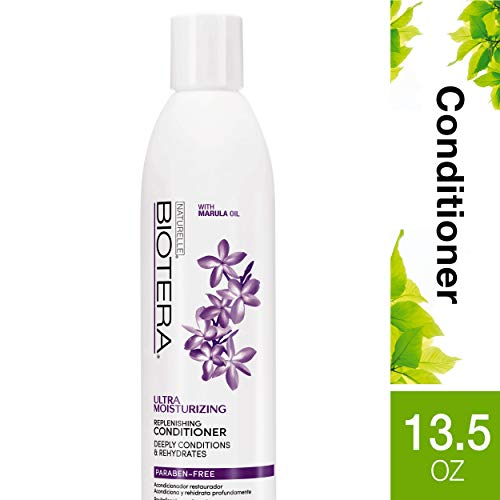 Biotera Ultra Moisturizing Replenishing Conditioner, with Marula Oil, Paraben-Free, ()