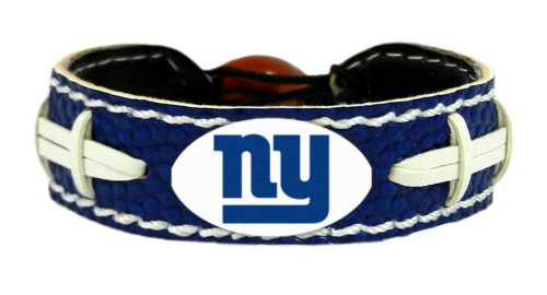 New York Giants Team Color NFL Football Bracelet