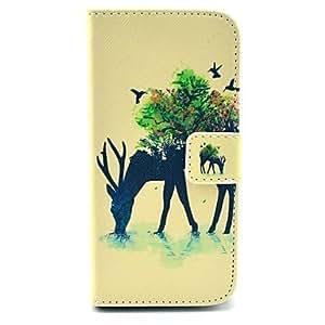 WQQ Teléfono Móvil Samsung - Carcasas de Cuerpo Completo - Gráfico/Dibujos Animados/Diseño Especial - para Samsung Galaxy Mini S5 ( Multi-color ,