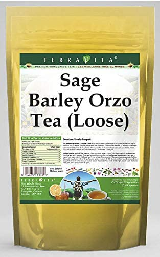 Amazon Com Sage Barley Orzo Tea Loose 8 Oz Zin 557361