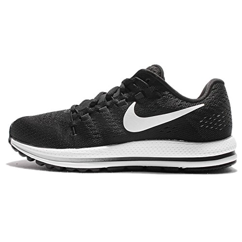 Nike Wmns Air Zoom Vomero 12, Zapatillas de Trail Running Para Mujer Negro (Black/White/Anthracite 001)
