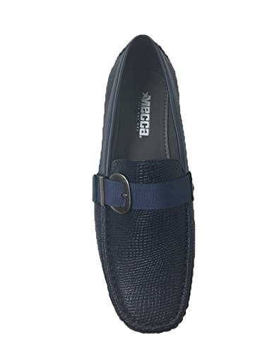 4103 Loafers Shoes Slip Mecca Belt Strap Mens Ralph On ME Navy 5n8UB