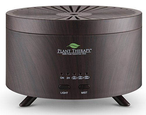 plant-therapy-aromafuse-essential-oil-diffuser-wood-grain-brown-with-large-water-reservoir