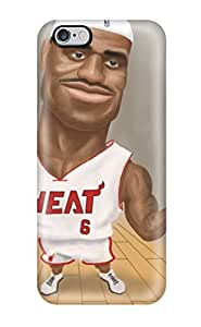Beautifulcase case, Fashionable Iphone 6 Plus case cover - Nba Basketball Artwork Lebron James Miami R6zPcnCbsdF Heat
