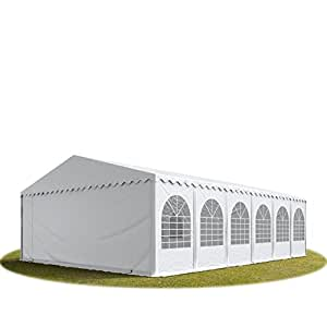 XXL 8x12 m heavy duty party tent, marquee PVC white